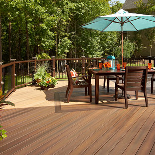 Inspiration for a deck remodel in Charlotte
