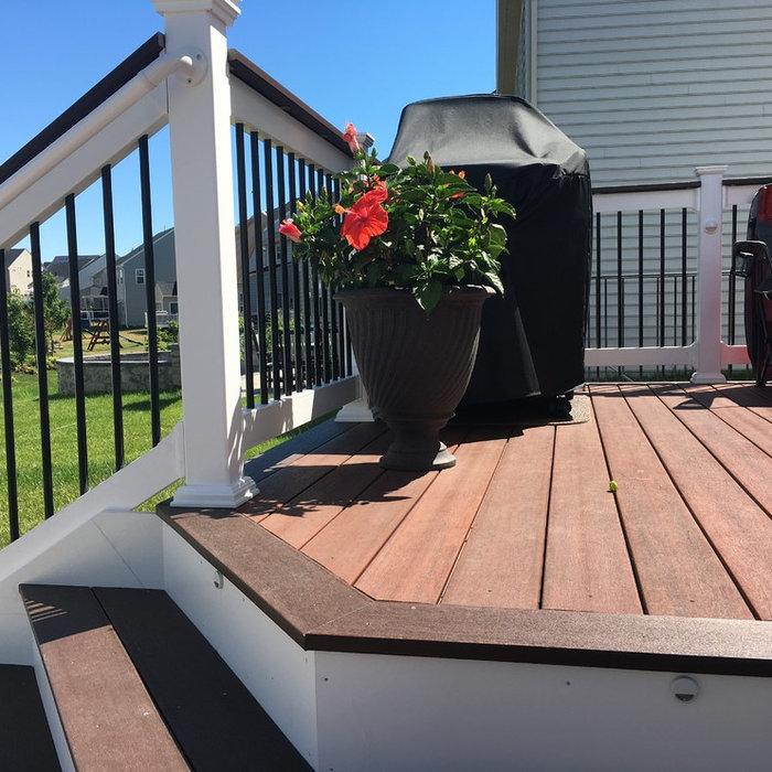Fieldcrest Decking w/ patio