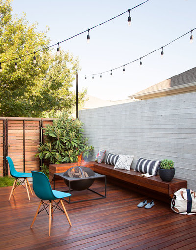 Contemporary Deck by B. Jane Gardens