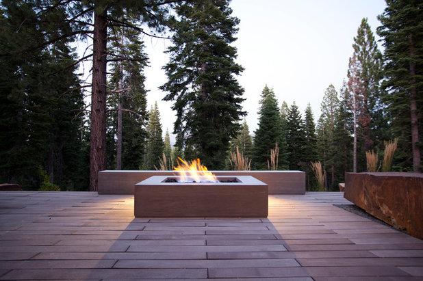 Terrasse Firepits