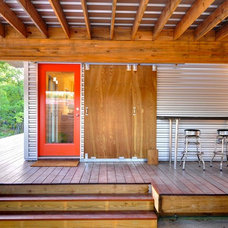 Contemporary Deck by Donna Kacmar