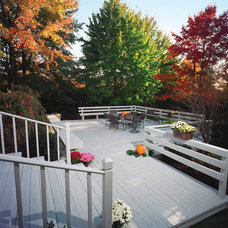Traditional Deck by Flood Wood Care