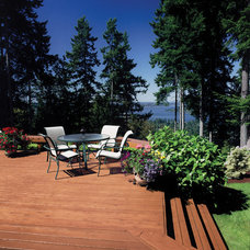 Rustic Deck by Flood Wood Care