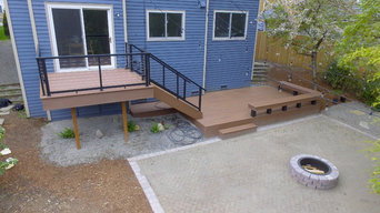 Forbes Creek Modern Deck Installation
