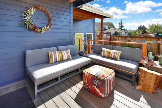 Craftsman Deck by Bellingham Bay Builders