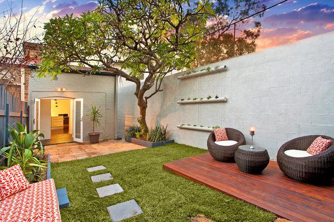 Contemporain Terrasse en Bois by Inspired Property Designs