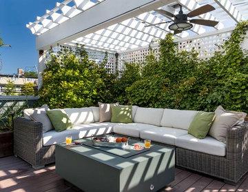 Fruitful Roof Deck