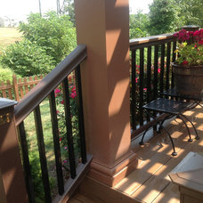 Traditional Deck by Archadeck Northeastern Indiana