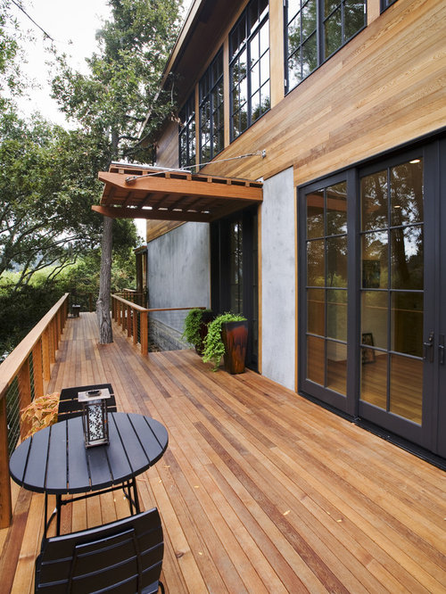 Transitional Deck Idea In San Francisco