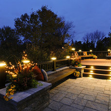 Traditional Deck by Harth Builders