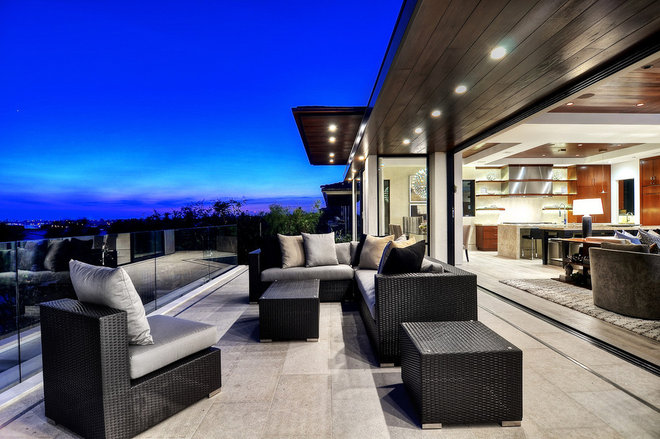 Contemporary Deck by Marc Garvey Electric