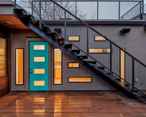 inspiration for a contemporary deck remodel in austin - Deckideen Nz