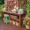 Skapa en vacker och praktisk planteringshörna i trädgården