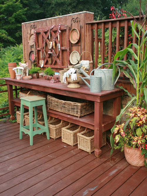 Beer Garden Table And Bench Ideas Pictures Remodel and Decor