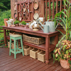 Rustic Deck by Amy Jesaitis