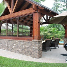 Traditional Deck by Weatherwell Elite - Aluminum Shutters