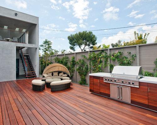 Cherry Wood Deck Design Ideas & Remodel Pictures | Houzz
