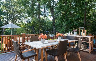 Multilevel Deck Rejuvenates a Backyard Entertaining Space