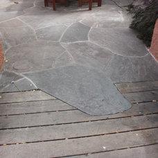 Traditional Deck by Goodman Landscape Design