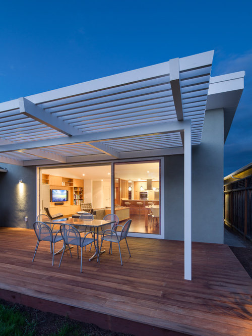 Modern pergola houzz for Pergola images houzz