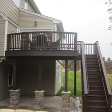 Traditional Deck by Ben Blue's Backyard Creations