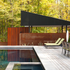 Contemporary Deck by McInturff Architects