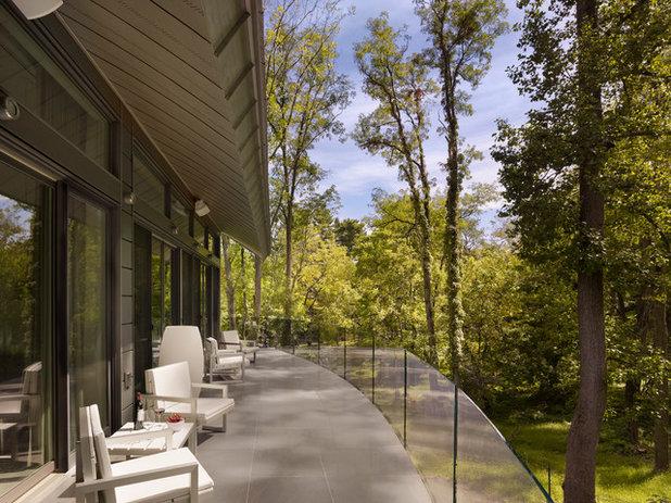 Contemporain Terrasse en Bois by neely architecture
