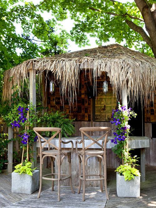 Deck   Tropical Deck Idea In New York