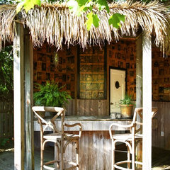 tropical patio by Cezign
