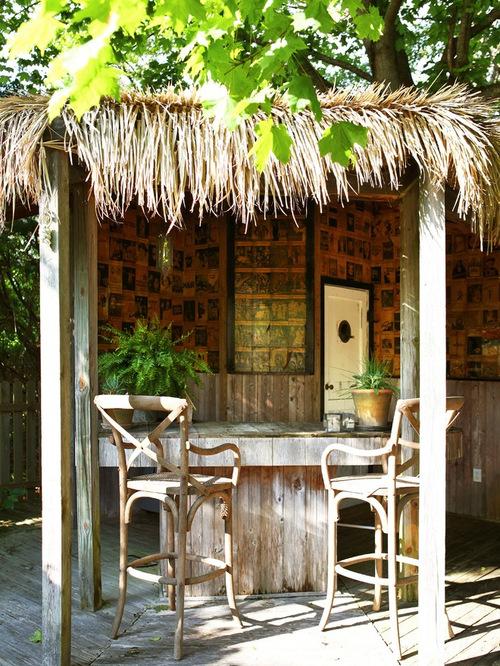 backyard tiki bar houzz