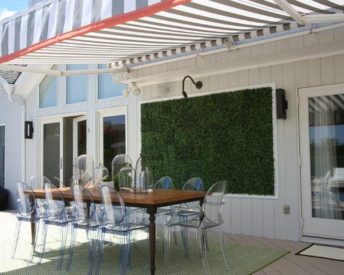 maritime terrasse mit pflanzwand ideen design bilder. Black Bedroom Furniture Sets. Home Design Ideas