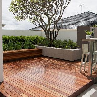 Immagine di terrazze e balconi contemporanei
