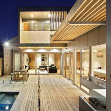 Contemporary Deck by Vibe Design Group