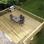 Amblewood Traditional Deck Vancouver By Ridgewood