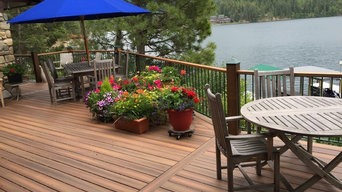 Hayden Lake Deck