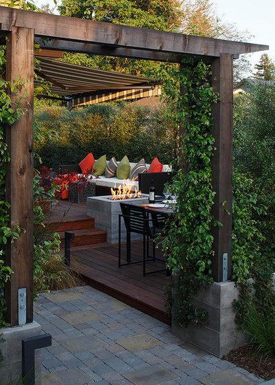 Contemporary Deck by Amy A. Alper, Architect