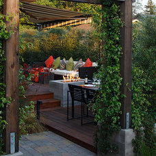 Contemporary Deck by Amy A. Alper