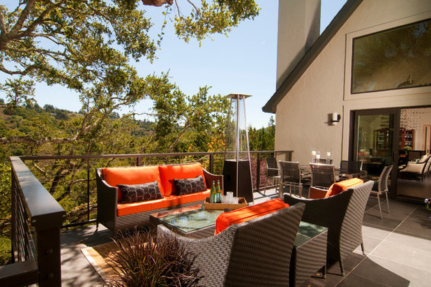 Fancy See more patio furniture Contemporary Deck by Trace Kannel Architecture