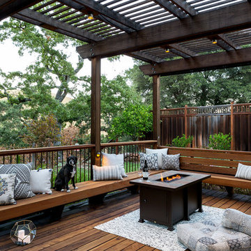 Hilltop Backyard Retreat - Sue Oda Landscape Design