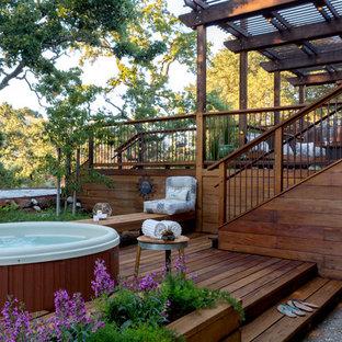 Hilltop Backyard Retreat - Sue Oda Landscape Design