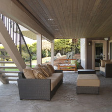 Contemporary Deck by atelier drome, llp