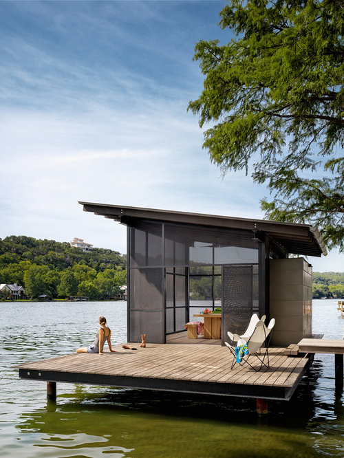 Dock Design Ideas dock design ideas Inspiration For A Contemporary Backyard Deck Remodel In Austin