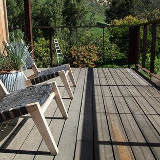 Rustikale Terrasse Santa Barbara Ideen Design Bilder Houzz