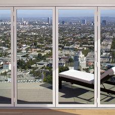 Modern Deck by NanaWall