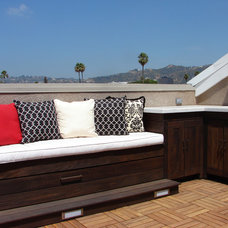 Contemporary Deck by Urban Safari Design Inc.