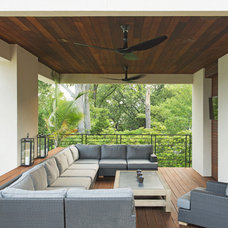 Contemporary Porch by Taggart Design Group
