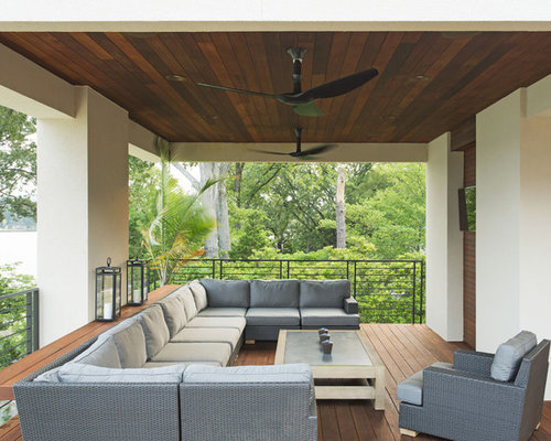 Outdoor ceilings ideas pictures remodel and decor for Outdoor verandah designs