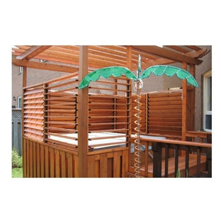 Example of an arts and crafts deck design in Toronto