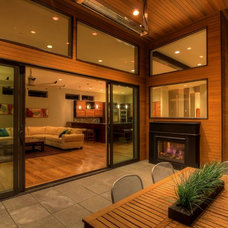 Contemporary Deck by Medici Architects