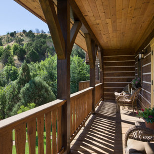 Inspiration for a french country deck remodel in Other